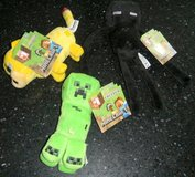 3 NEW Minecraft Plush Lot Baby Ocelot Enderman & Creeper in Kingwood, Texas