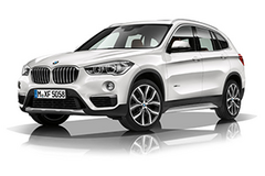 BMW X1 xDrive in Hohenfels, Germany