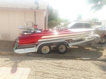 1969 RaySonCraft flat bottom V drive speed boat. in Phoenix, Arizona