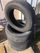225/65/17 Michelin Latitude Touring tires in Fort Leonard Wood, Missouri