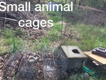 Small animals cages in Fort Leonard Wood, Missouri