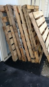 10,Wood pallets in Camp Lejeune, North Carolina