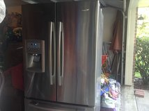 Stainless Steel Whirlpool French Door Refrigerator 25 cubic ft in Kingwood, Texas