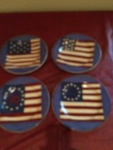 Flag Plates in Fort Campbell, Kentucky