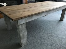 NEW - Rustic Handmade Solid Wood Coffee Table in Naperville, Illinois