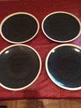 Blue Ceramic Plates in Fort Campbell, Kentucky
