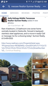 Home For Sale in Fort Campbell, Kentucky