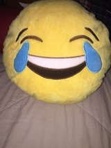 2 emoji pillows in Kingwood, Texas