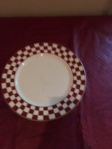 Red/White Checkered Plates in Fort Campbell, Kentucky