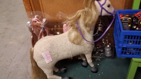 Horse For 18 inch doll Extras! in Perry, Georgia