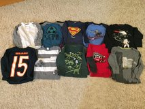 Boys 4/4t long sleeve shirts lot #2 in Chicago, Illinois