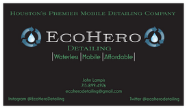 EcoHero Detailing in Kingwood, Texas