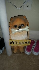 Dog Welcome Sign in Fort Polk, Louisiana
