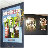 3 Big Bang theory posters in Fort Campbell, Kentucky