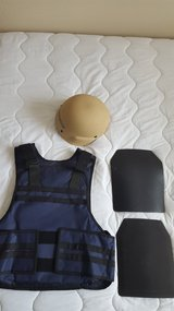 Level IV Body Armor, Vest with Advanced Kevlar Combat Helmet in Kingwood, Texas
