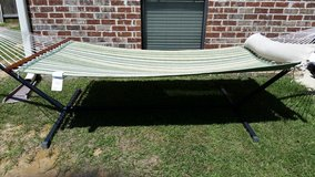 Hammock with stand in Fort Polk, Louisiana
