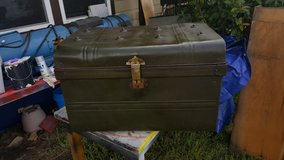 Green Military Metal Trunk in The Woodlands, Texas