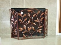 NWT Metal Fire Screen in Kingwood, Texas