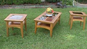 coffee table and 2 end tables in Hinesville, Georgia