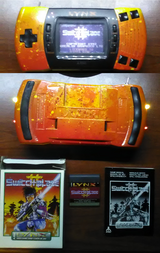 Atari Lynx II Custom Paint w Switchable(ON/OFF) RGB LEDs in Perry, Georgia