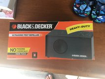 Black & Decker Ultrasonic Pest Repeller-BRAND NEW in Naperville, Illinois
