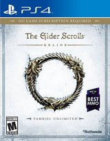 Elder Scrolls Online Tamriel Unlimited PS4 in Grafenwoehr, GE