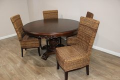 Beautiful Table w/Wicker Chairs in Kingwood, Texas