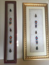 Nice Arrowhead Collection - 2 Frames with Arrowheads and Beads in Alamogordo, New Mexico