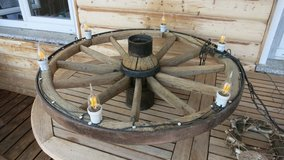 Big Wheel Lamp - Handmade in Grafenwoehr, GE