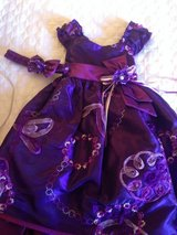 Handmade Purple Dress with headband & diaper cover in Port Arthur, Texas