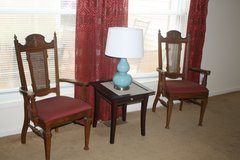 Side Table, Lamp, and Chairs in Perry, Georgia