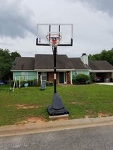 Spalding Basketball goal in Perry, Georgia