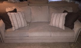 Couch and Pillows in Kingwood, Texas