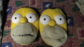 Homer slippers in Fort Campbell, Kentucky