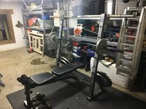 weight bench with all weights in Fort Campbell, Kentucky
