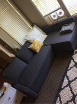 IKEA Gray Sofa with Pullout Sleeper - Like New in Fort Lewis, Washington