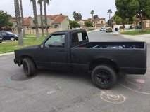 Chevy S10 pick up truck in Camp Pendleton, California
