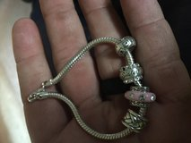 Nice bracelet with 4 charms in Beaufort, South Carolina