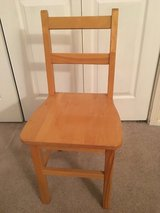 4 - Childcraft Oak Wood Chairs in Bartlett, Illinois