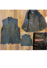 Riding Cut / vest, leather in San Clemente, California
