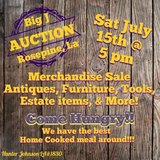 Auction Sat July 15th in Fort Polk, Louisiana