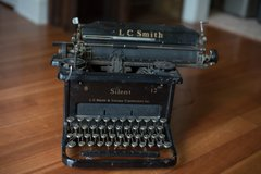 Vintage LC Smith & Corona 8 - 12 in. Typewriter in Camp Lejeune, North Carolina