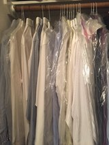 Lot of men's dress shirts in Kingwood, Texas