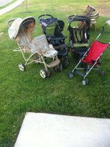 3 Strollers in Vista, California