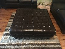 Leather Ottoman in Fort Polk, Louisiana