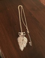 Owl Necklace in Yorkville, Illinois