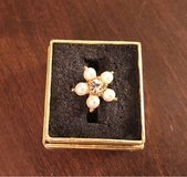 Faux Pearl Ring in Oswego, Illinois