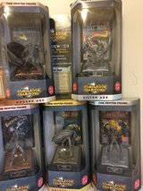 Pewter Comic book Figures in Okinawa, Japan