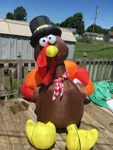 Inflatable Turkey in Fort Knox, Kentucky