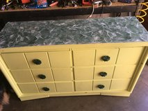 6 Drawer Yellow Dresser in Fort Knox, Kentucky